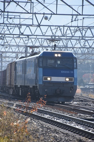 2019年11月12日撮影 東線貨物2083レ EH200-15号機