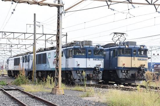 2019年9月16日撮影 西線貨物8084レ EF64-1028号機