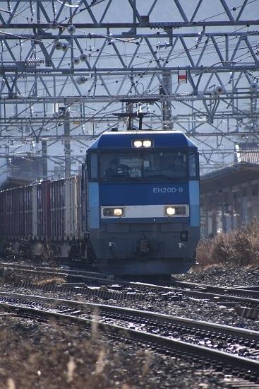 2019年12月15日撮影 東線貨物2083レ EH200-9号機