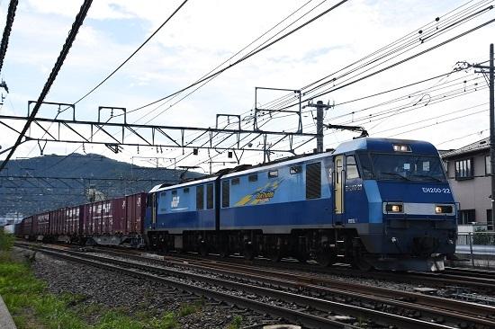 2019年8月31日 東線貨物2083レ EH200-22号機