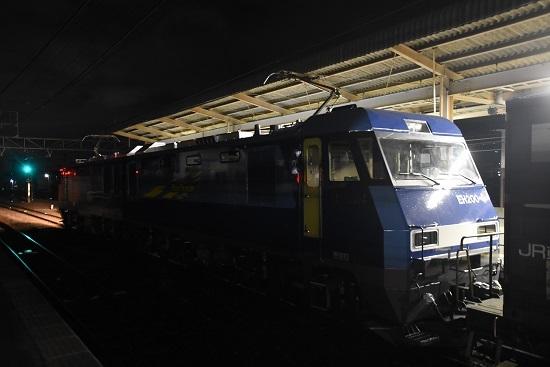 2019年12月18日撮影 東線貨物89レ EH200-4号機後撃ち