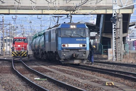 2019年12月21日撮影 東線貨物2080レ 無線機返却