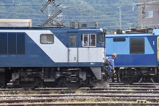 2019年9月20日撮影 西線貨物8084レ EF64-1020号機機回し