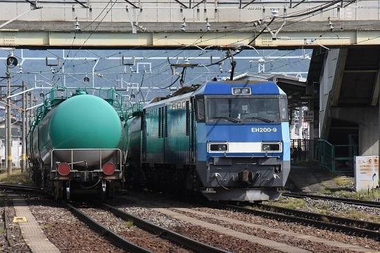 2019年9月20日 東線貨物2080レ 南松本にてEH200-9号機