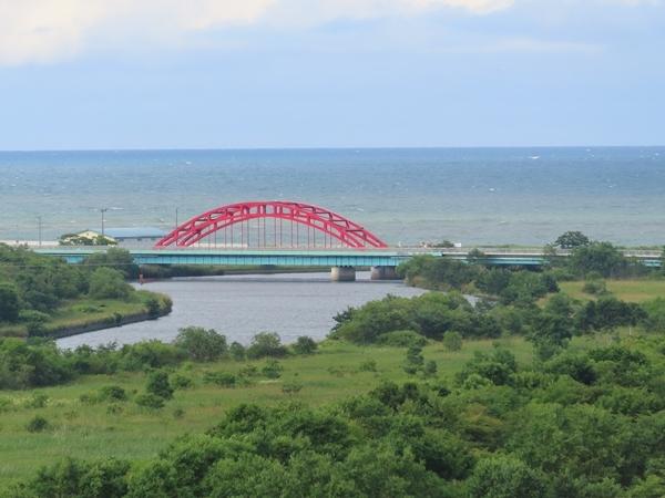 標津川河口
