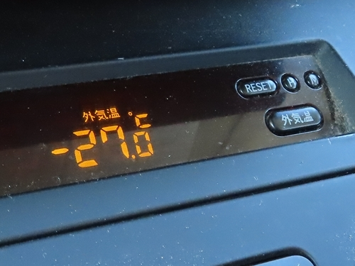 富良野の気温