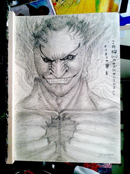 鉛筆画 04