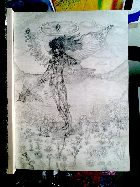 鉛筆画 06