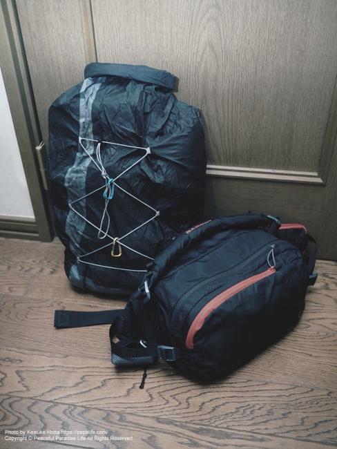 2020年3月 旅の装備