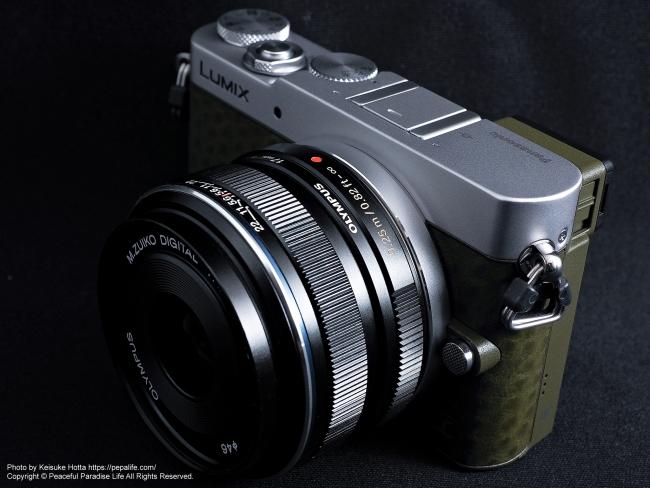 Panasonic LUMIX GM5 + M.ZUIKO DIGITAL 17mm F1.8