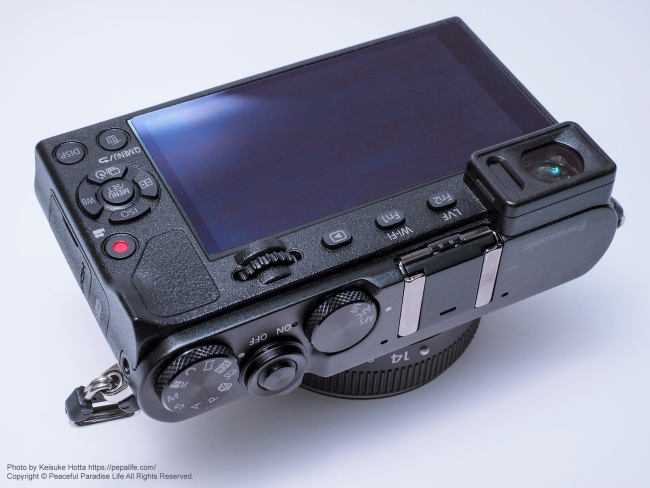 LUMIX GM5 背面