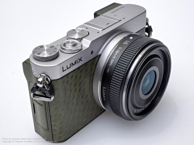 LUMIX GM5 + LUMIX G 14mm/F2.5 II