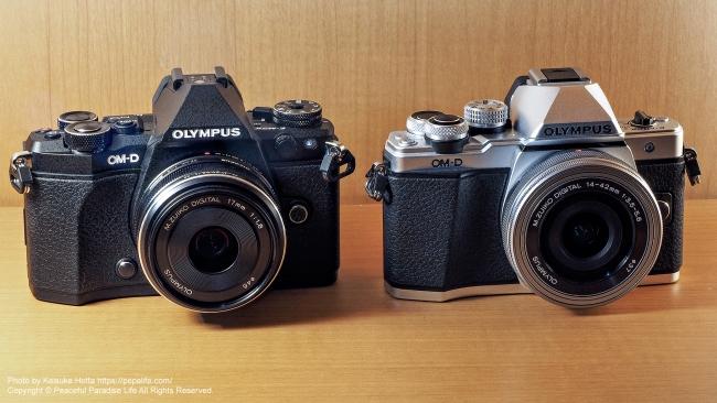 OLYMPUS OM-D E-M5 Mark II と OM-D E-M10 MarkⅡ