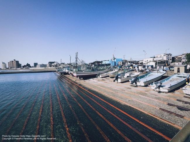 LUMIX G VARIO 7-14mm / F4.0 ASPH. 試し撮り 作例2: 腰越漁港