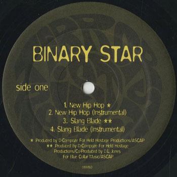 HH_BINARY STAR_NEW HIP HOP_20190928
