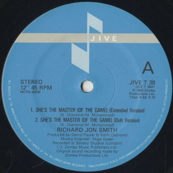 RICHARD JON SMITH_SHES THE MASTER_20200108