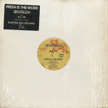 MANTRONIX WITH MC TEE Fresh Is The Word_20200221
