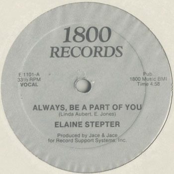 ELAINE STEPTER Always Be A Part Of You_20200225