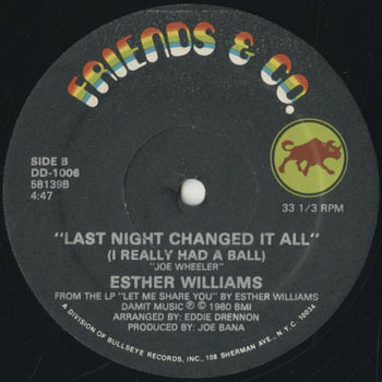 ESTHER WILLIAMS Last Night Changed It All_20200225