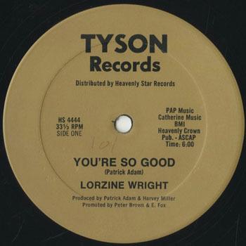 LORZINE WRIGHT Youre So Good_20200225