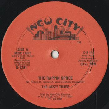 JAZZY THREE The Rappin Spree_20200228