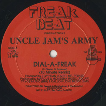 UNCLE JAMS ARMY Dial A Freak 10 Minute Remix_20200228
