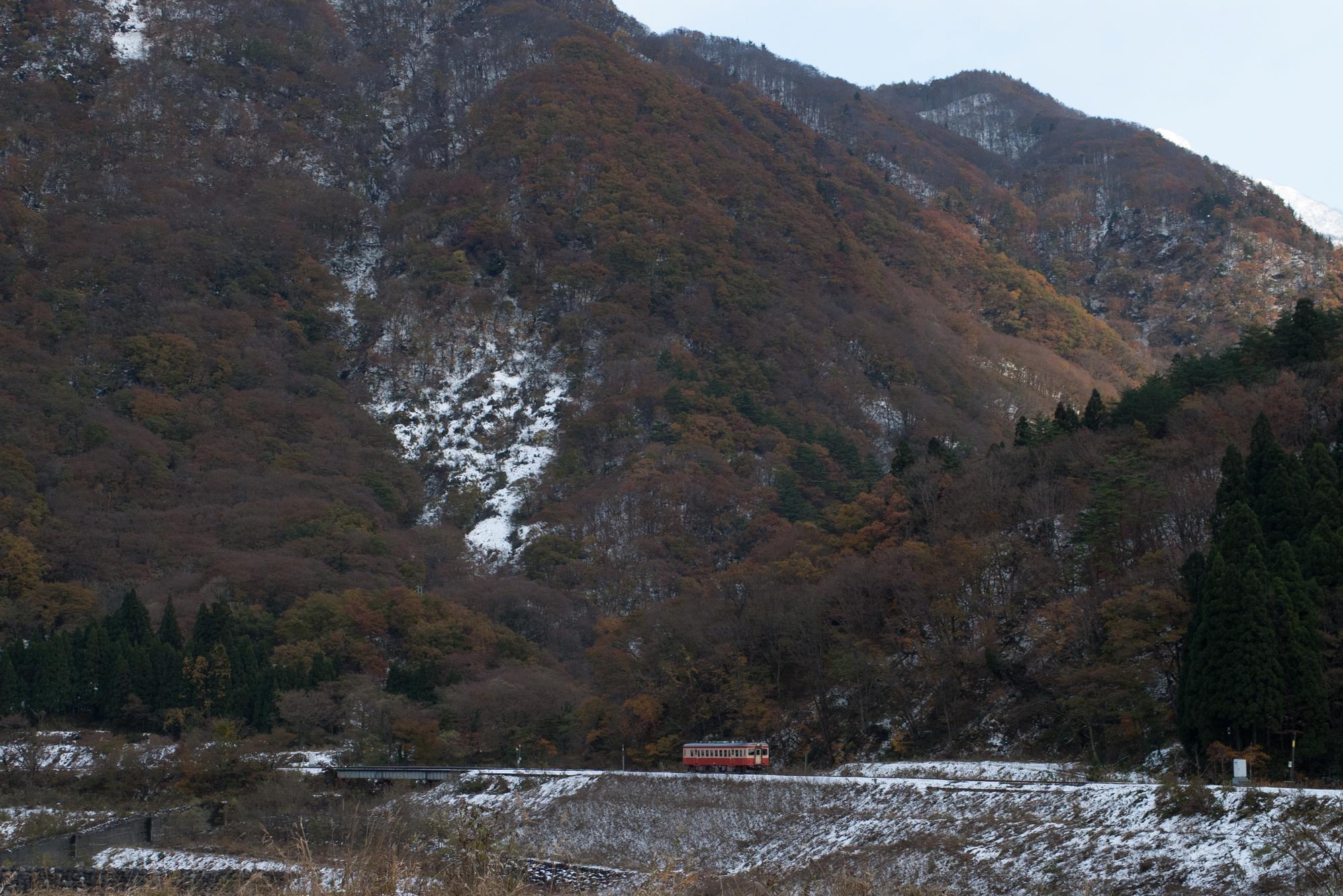 2007年11月24日 大糸線 小滝~平岩