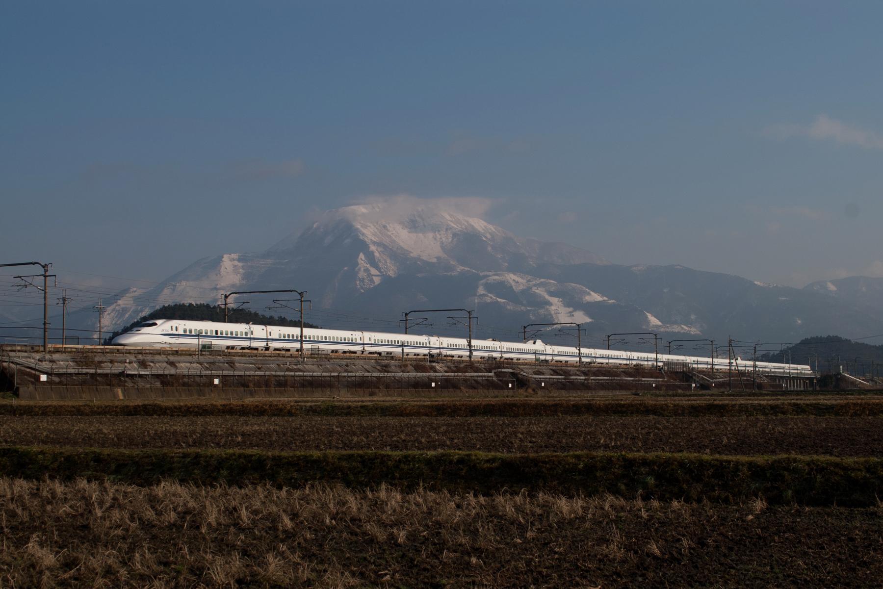 2008年1月6日 米原~岐阜羽島