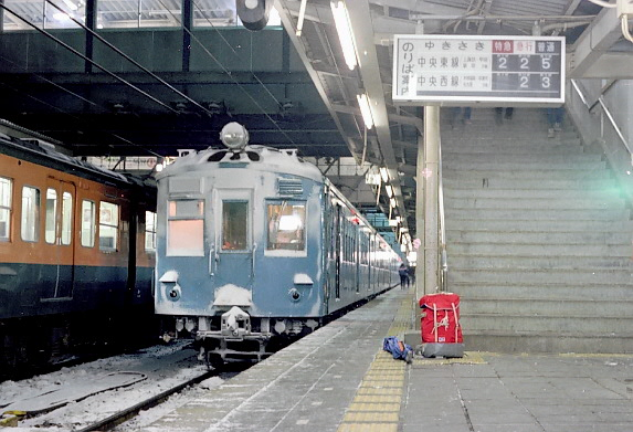 1981-1-1  松本駅