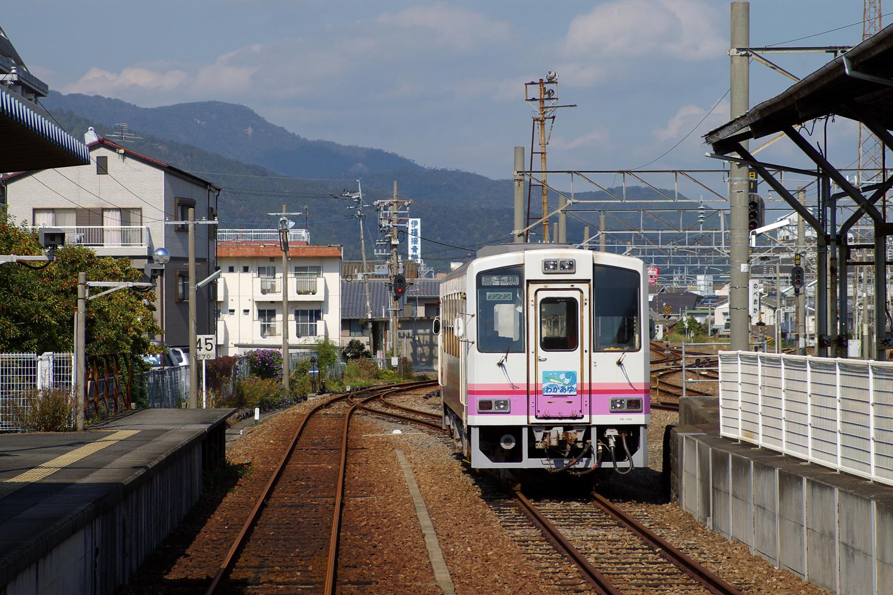 2005年11月2日 延岡駅