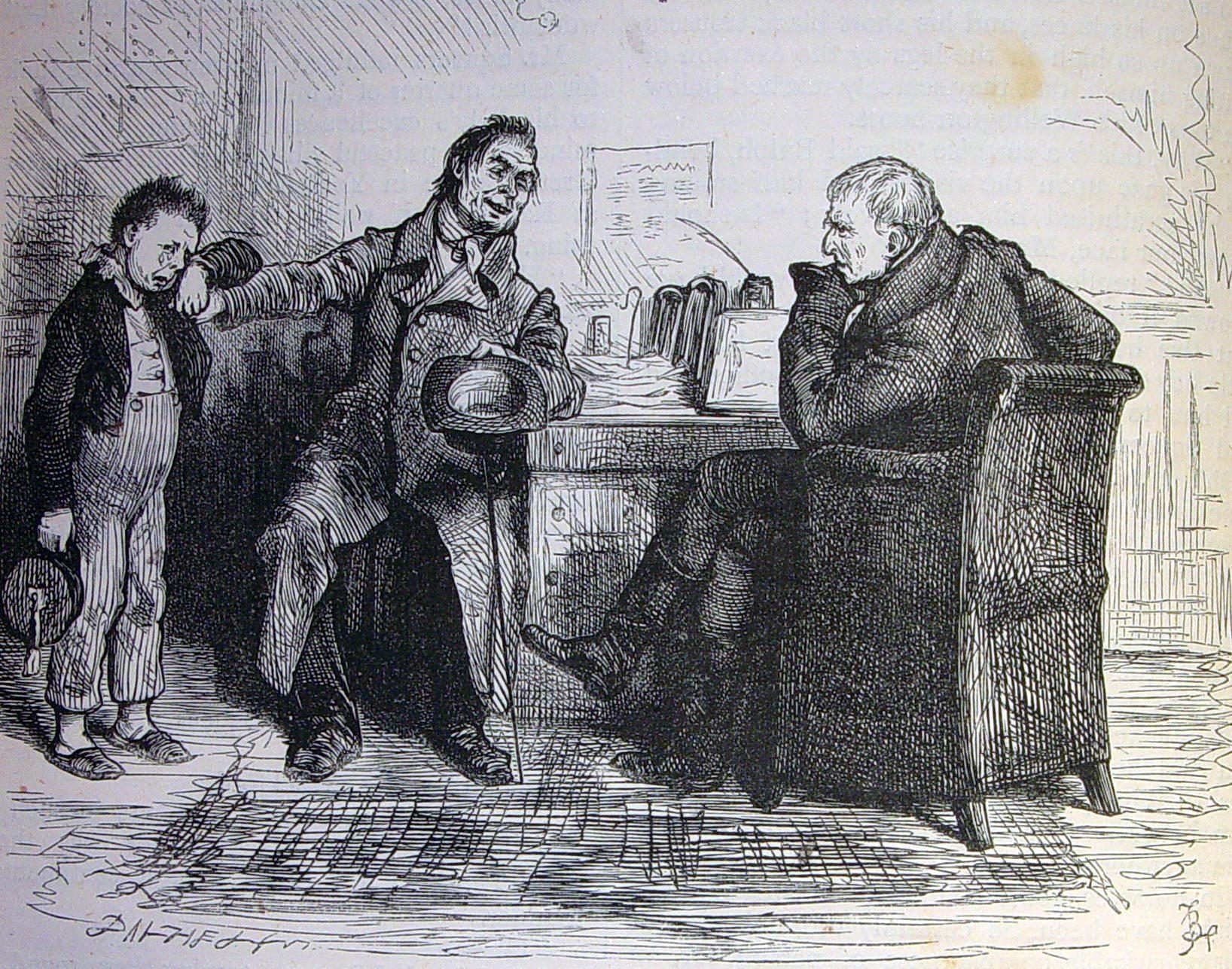 Dickens Squeers Nicholas Nickleby