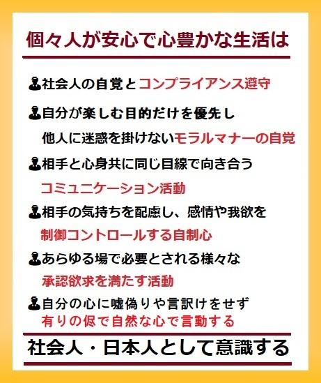 意識社会人・日本人新