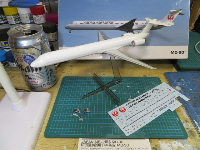 JAL MD-90 鶴丸