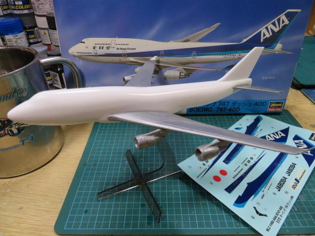 ANA B747-400 1/400 の2