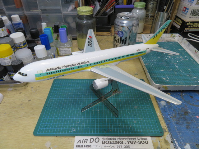 AIR DO B767-300ER 完成