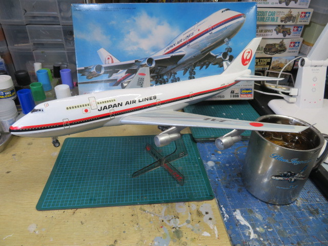 JAL B747-300 SUD 完成・・・
