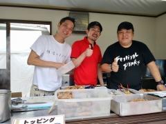 東京ラーメンショー2019 ~『ら~麺 あけどや』×『魂麺』千葉コラボ「鴨出汁ワンタン麺」~-4