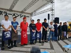 東京ラーメンショー2019 ~『ら~麺 あけどや』×『魂麺』千葉コラボ「鴨出汁ワンタン麺」~-5