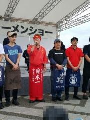 東京ラーメンショー2019 ~『ら~麺 あけどや』×『魂麺』千葉コラボ「鴨出汁ワンタン麺」~-6