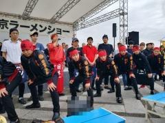 東京ラーメンショー2019 ~『ら~麺 あけどや』×『魂麺』千葉コラボ「鴨出汁ワンタン麺」~-7
