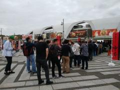東京ラーメンショー2019 ~『ら~麺 あけどや』×『魂麺』千葉コラボ「鴨出汁ワンタン麺」~-13