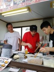 東京ラーメンショー2019 ~『ら~麺 あけどや』×『魂麺』千葉コラボ「鴨出汁ワンタン麺」~-15