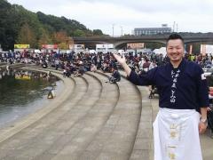 真ラーメン祭り絆 in 松戸・21世紀の森と広場 ~中華蕎麦 とみ田~-15
