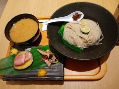 むぎくらべ【七】 ~寿製麺 よしかわ「麺割烹 霜月 鴨の味噌つけそば」~-6