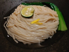 むぎくらべ【七】 ~寿製麺 よしかわ「麺割烹 霜月 鴨の味噌つけそば」~-9