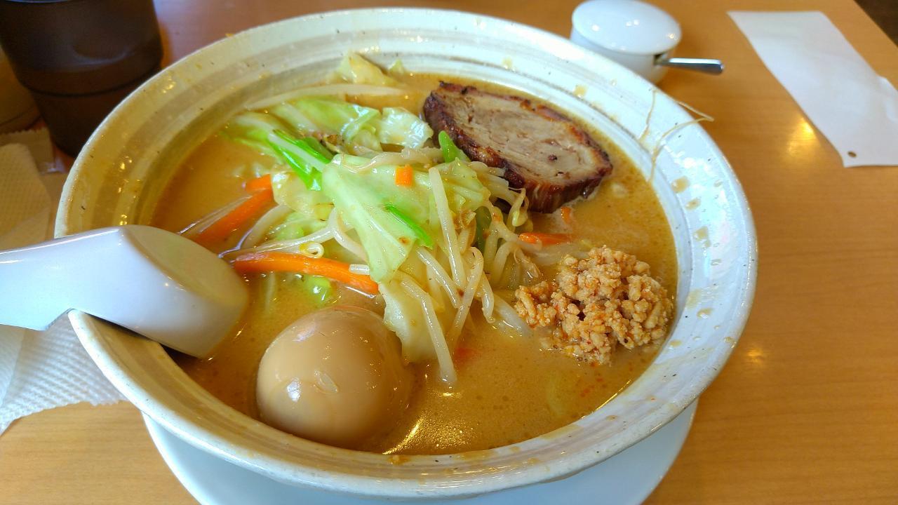 元祖味噌ラーメン 叉焼のせ_3