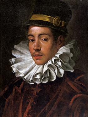 天正遣欧少年使節伊東マンショの肖像 ドメニコ・ティントレット筆 イタリア1585