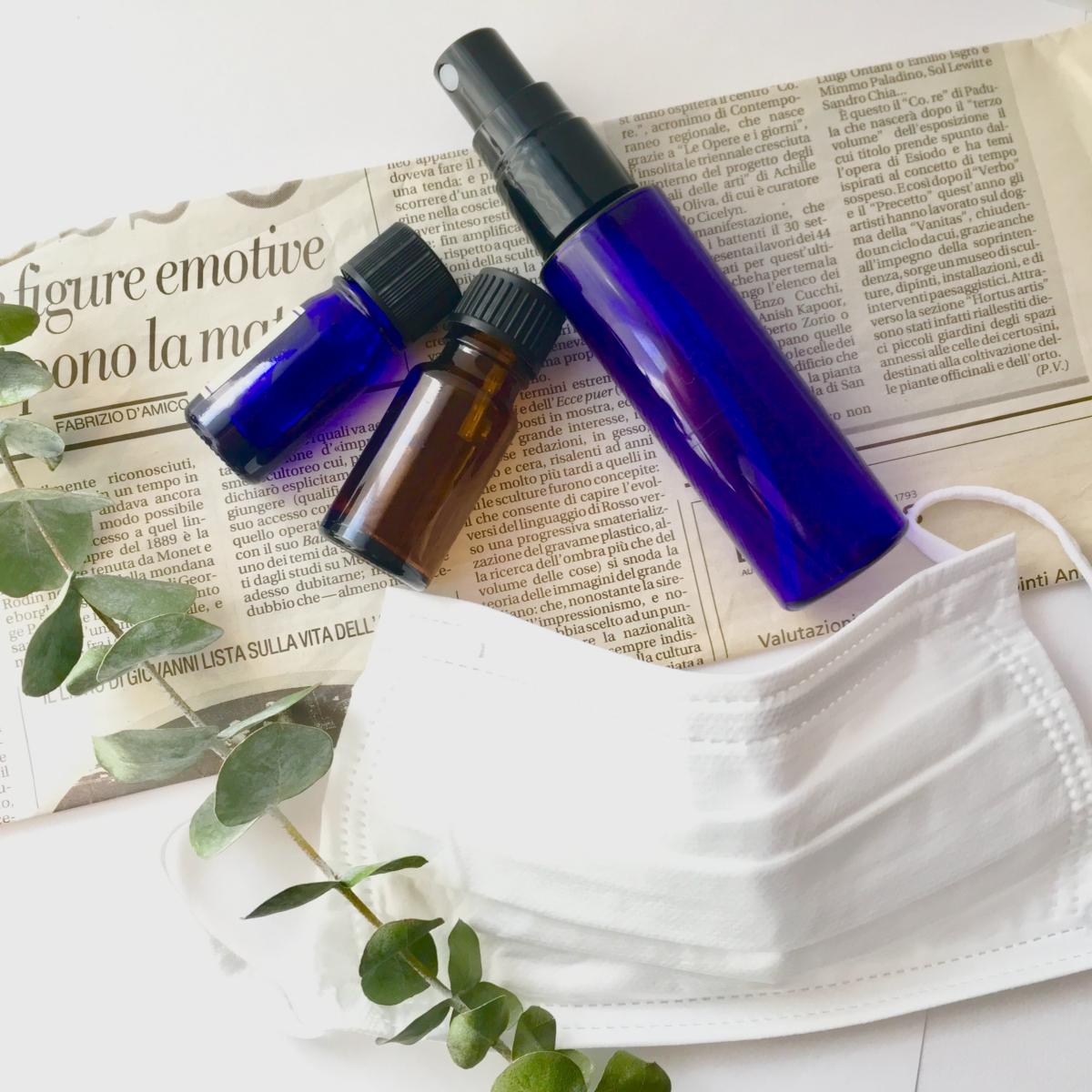 マスク用アロマスプレーの作り方。おすすめの精油&ブレンド8選