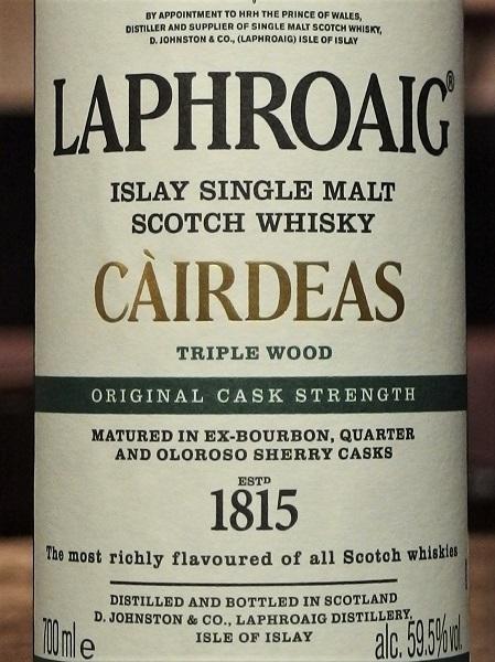 LAPHROAIG Cairdeas Triple Wood_LL600