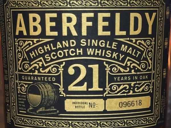 ABERFELDY 21yo_LL600